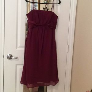 Alfred Angelo Color Berry Party/Prom Dress